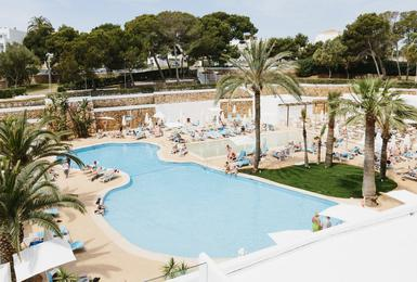 бассейн Отель AluaSoul Mallorca Resort (Только для взрослых) Cala d'Or, Mallorca